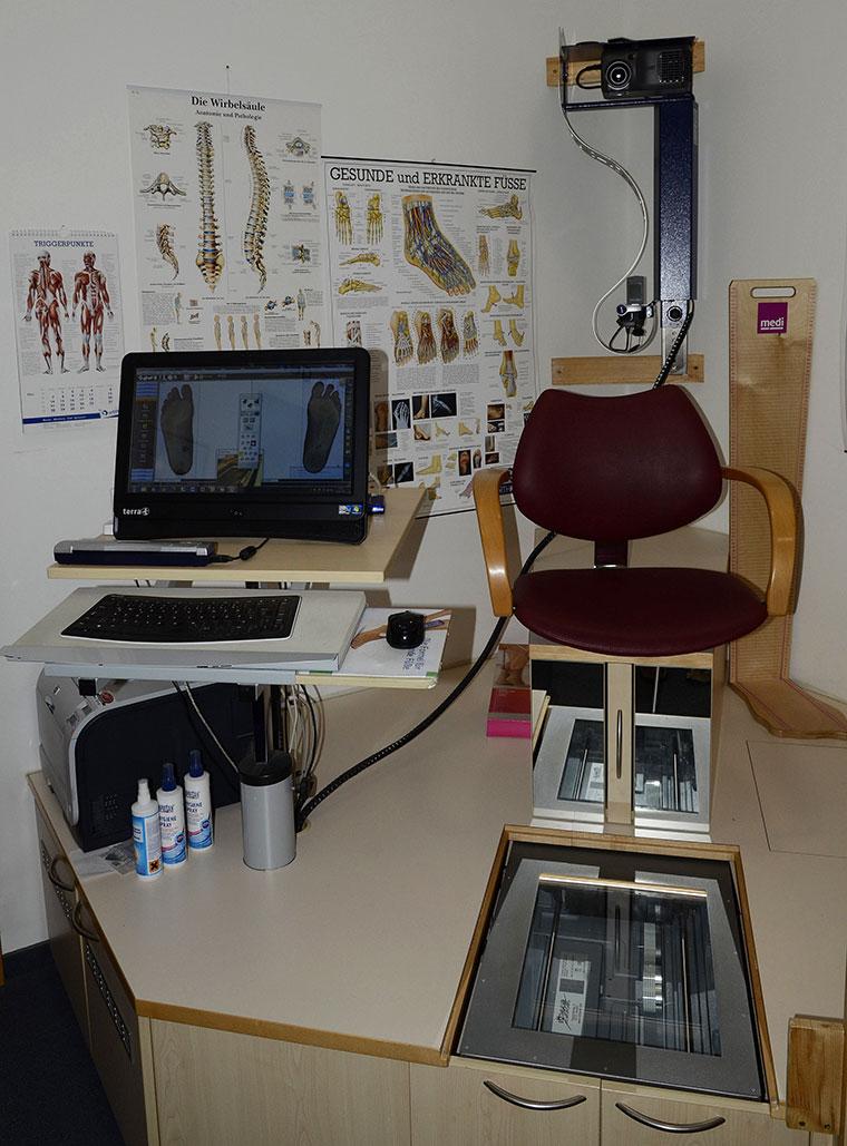 Orthopädische Einlagen an Ihre Füße anpassen