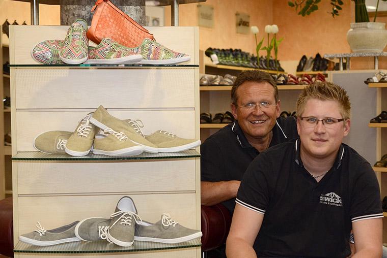Inhaber Schuhhaus Zwickl in Bogen bei Straubing