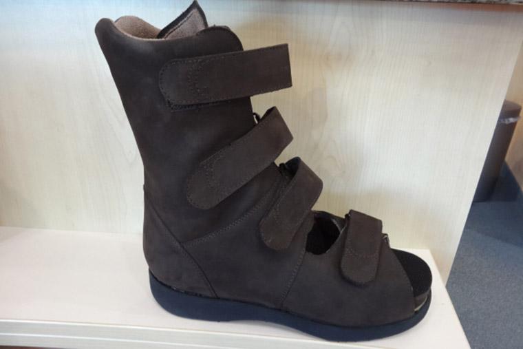 Schuhe für Fußfehlstellungen