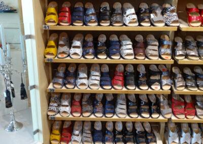 Sandalen im Schuhhaus Zwickl